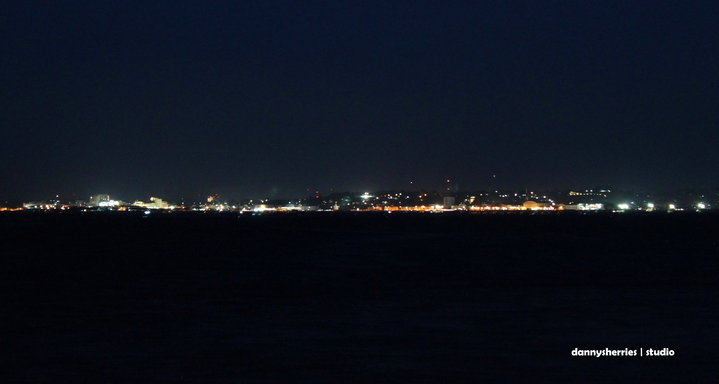 Manado Night View by Danny S