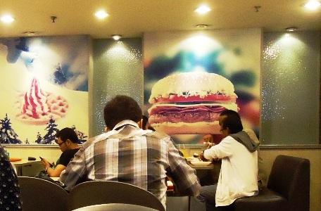 Burgers getting popular