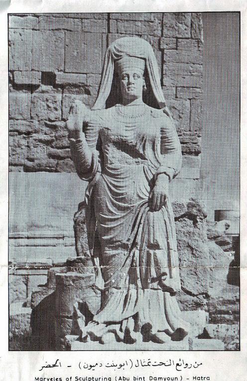 Gambar patung indah di HATRA